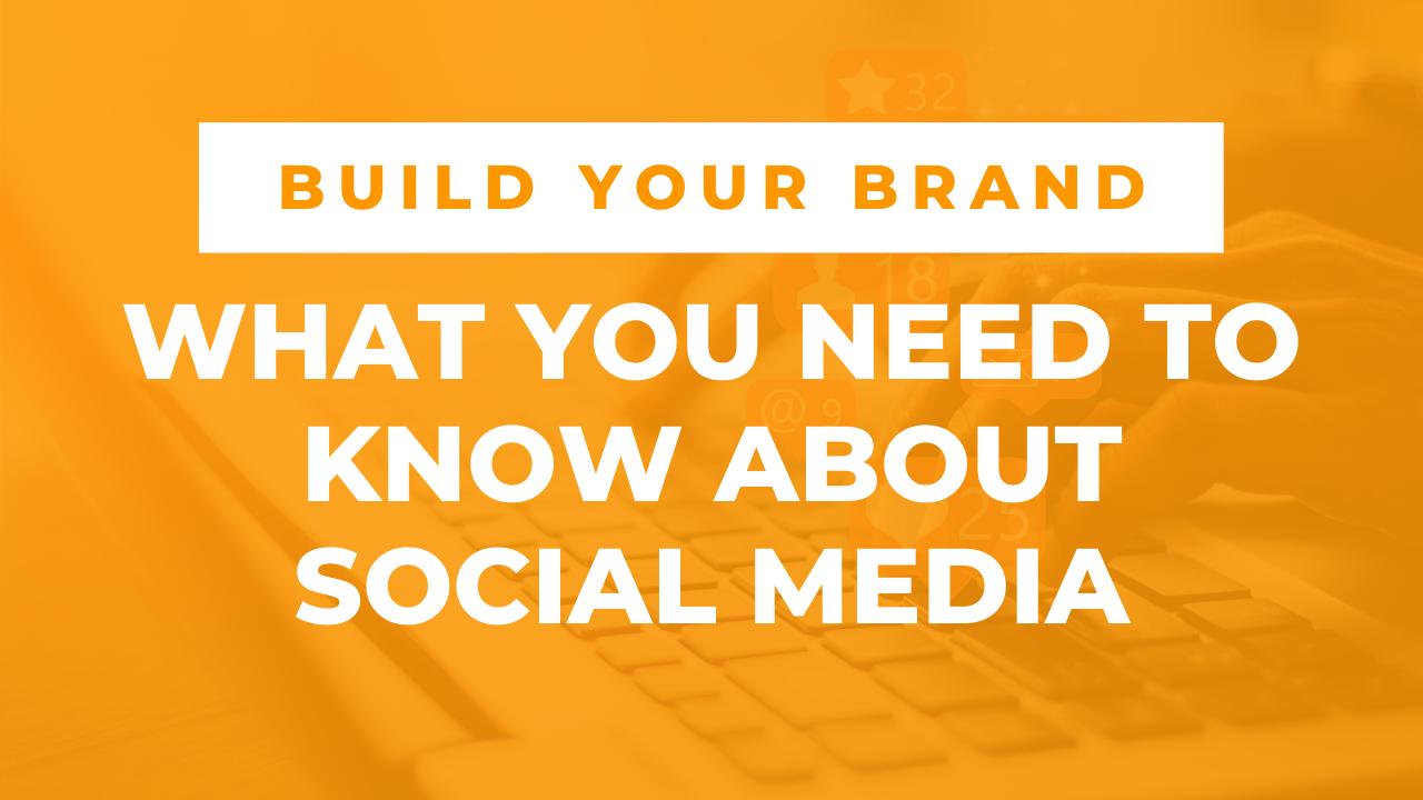 Build Your Brand Social Media Webinar