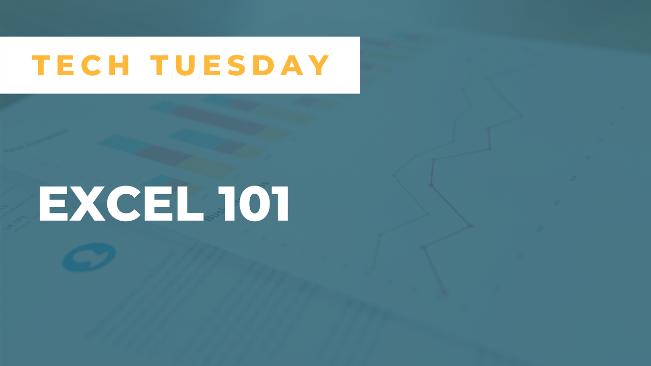 Tech Tuesday: Excel 101